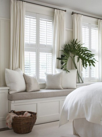 Simple and elegant plantation shutters that perfect for every style 29
