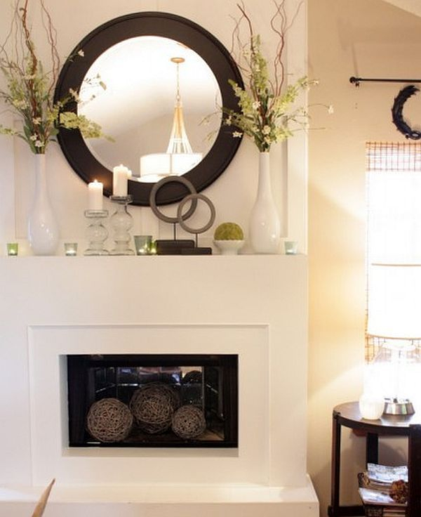 Adorable round mirror designs to brighten up your small space 43