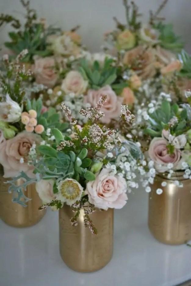 Cheerful ways to use mason jars this spring 48