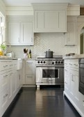 Modern herringbone pattern to give unique elements to your kitchen 17