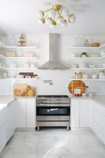 Modern herringbone pattern to give unique elements to your kitchen 30