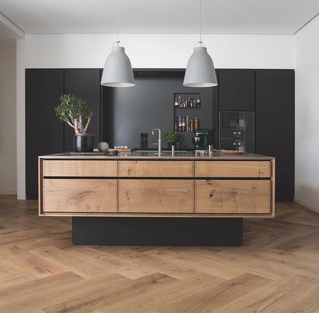 50 Modern Herringbone Pattern To Give Unique Elements To Your Kitchen