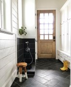 Stunning herringbone patterns for your bathroom wall 44