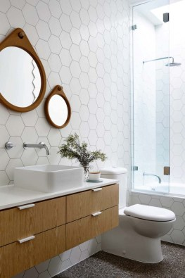 Unique honeycomb tile to give your bathroom a new look 06