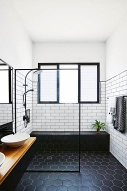 Unique honeycomb tile to give your bathroom a new look 27
