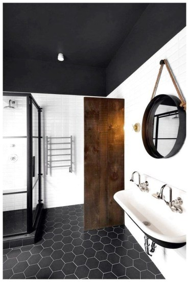 Unique honeycomb tile to give your bathroom a new look 30