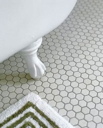 Unique honeycomb tile to give your bathroom a new look 44