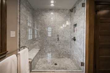 Unique honeycomb tile to give your bathroom a new look 47