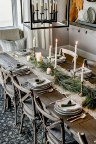 Adorable farmhouse christmas decor ideas 12