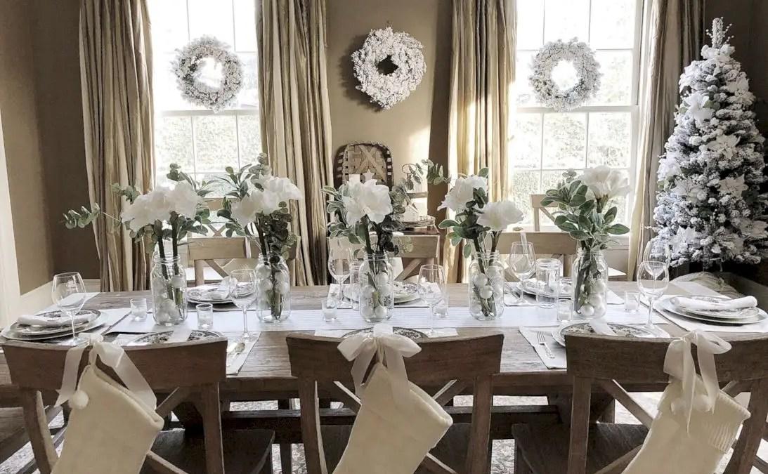 52 Adorable Farmhouse Christmas Decor Ideas
