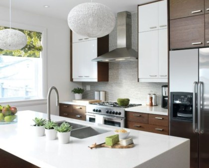 Awesome clutter-free ideas to organize your countertop 33