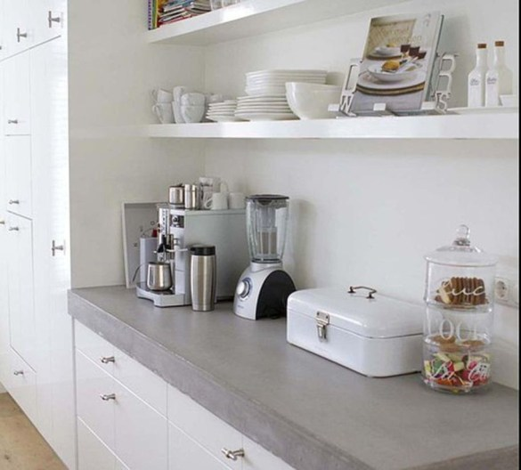 Awesome clutter-free ideas to organize your countertop 41