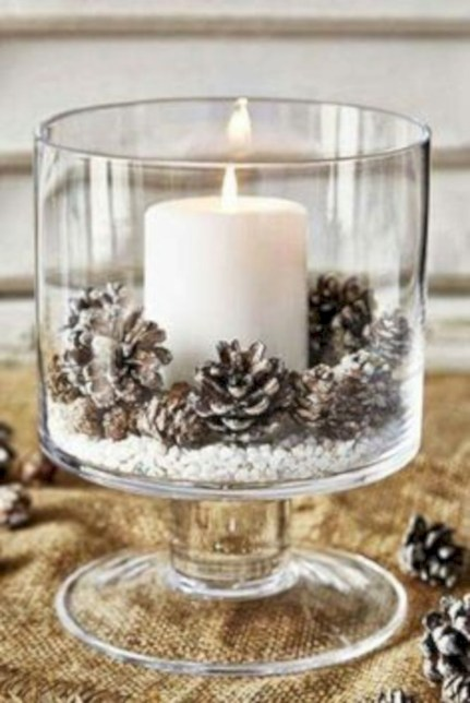 Beautiful christmas centerpiece ideas you should try 04