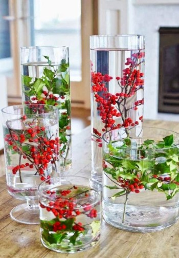 Beautiful christmas centerpiece ideas you should try 14