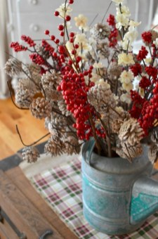Beautiful christmas centerpiece ideas you should try 15