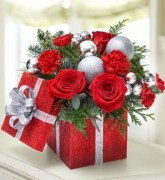 Beautiful christmas centerpiece ideas you should try 25