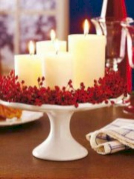 Beautiful christmas centerpiece ideas you should try 37