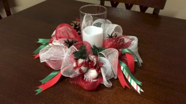 Beautiful christmas centerpiece ideas you should try 43