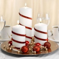 Beautiful christmas centerpiece ideas you should try 44