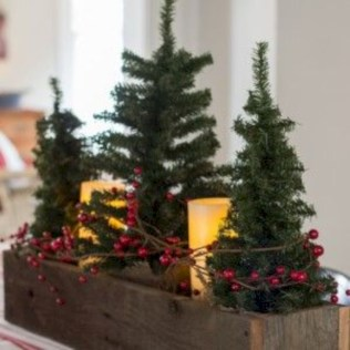 Beautiful christmas centerpiece ideas you should try 46
