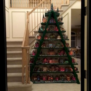 Beautiful christmas decor for small space 10
