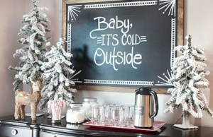 Beautiful christmas decor for small space 22