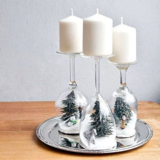 Beautiful christmas decor for small space 24