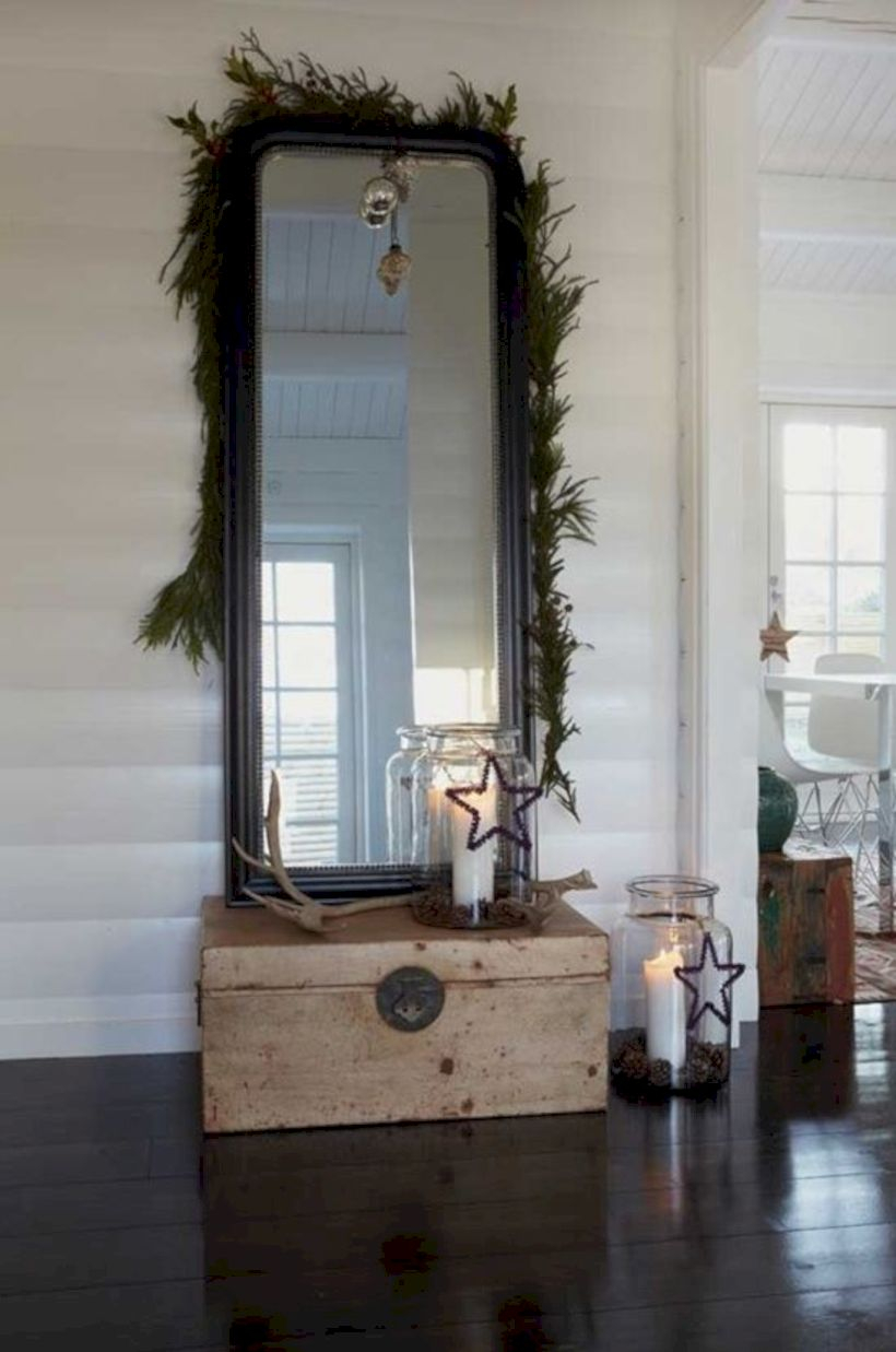 Beautiful christmas decor for small space 43