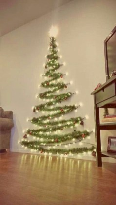 Beautiful christmas decor for small space 47