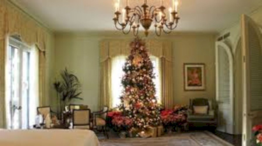Beautiful christmas tree decoration ideas to see 03
