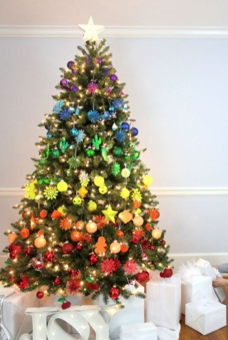 Beautiful christmas tree decoration ideas to see 20