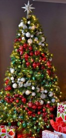 Beautiful christmas tree decoration ideas to see 21