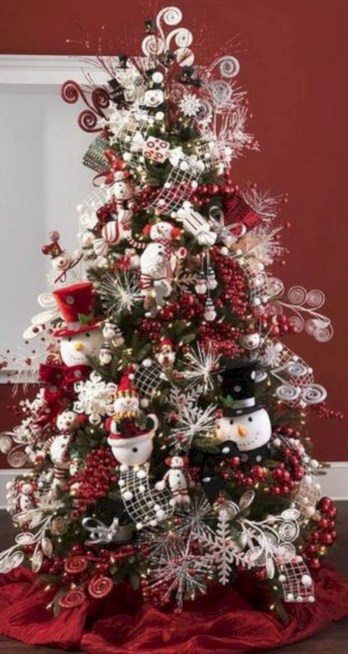 Beautiful christmas tree decoration ideas to see 23