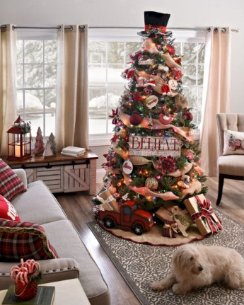 Beautiful christmas tree decoration ideas to see 31