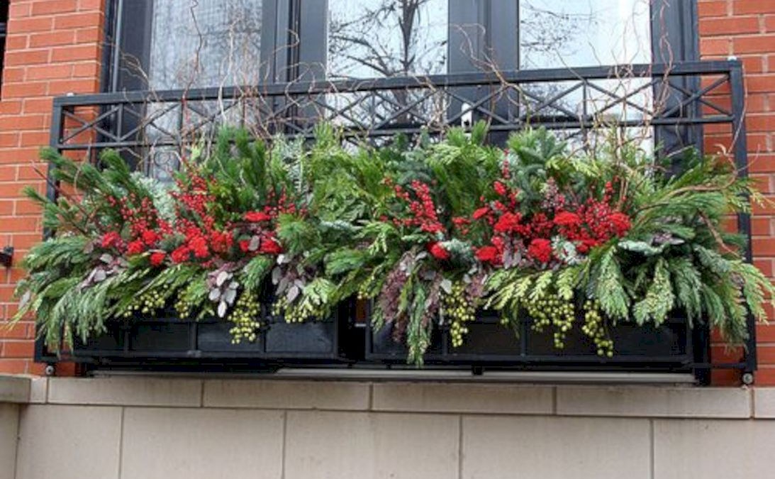 56 Colorful Winter Planters for Your Outdoor Decorations