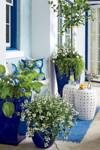 Colorful winter planters for your outdoor decorations 45
