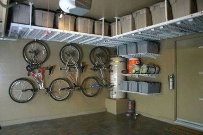 Creative hacks to organize your stuff for garage storage 09