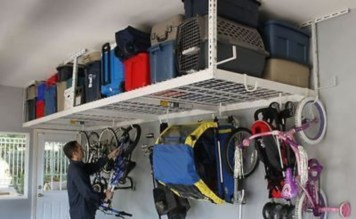 Creative hacks to organize your stuff for garage storage 15
