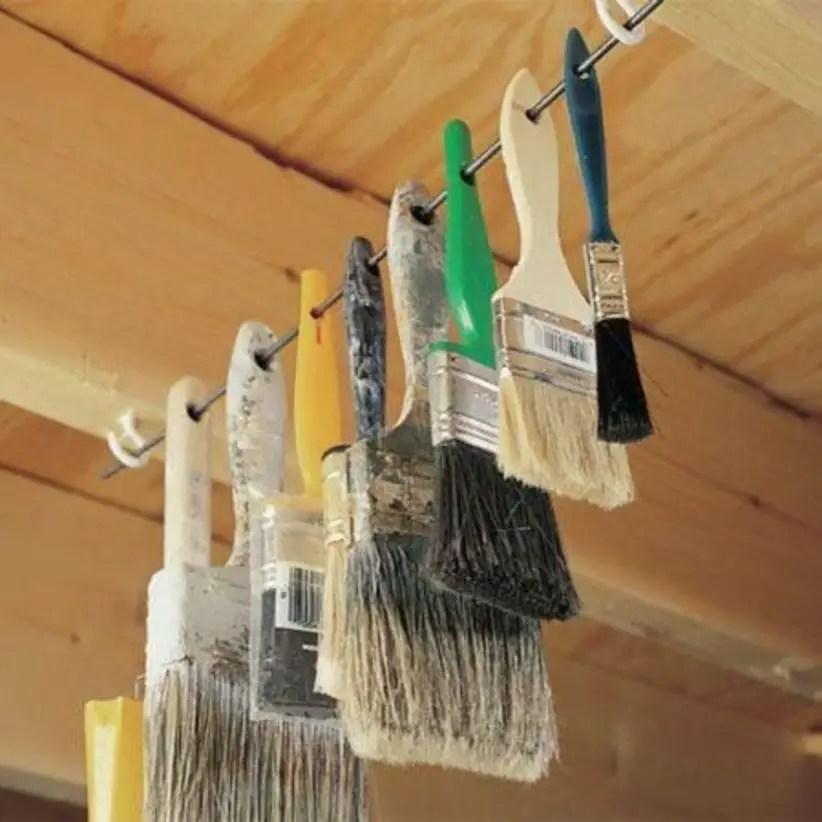 Creative hacks to organize your stuff for garage storage 26