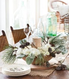 Easy winter centerpiece decoration ideas to try 27