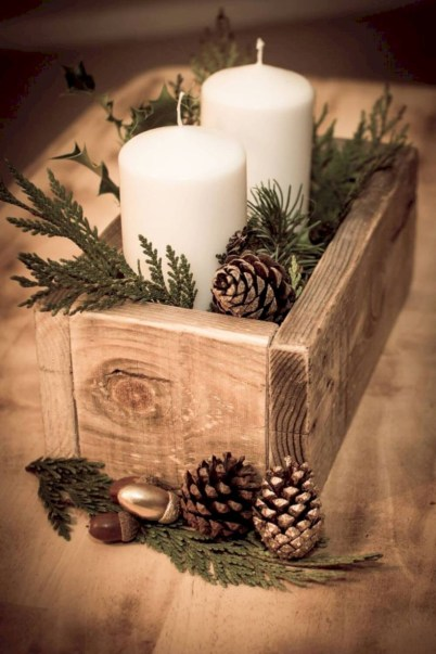 Easy winter centerpiece decoration ideas to try 40
