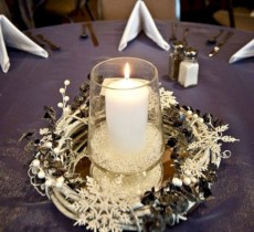 Easy winter centerpiece decoration ideas to try 42