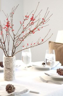 Easy winter centerpiece decoration ideas to try 46
