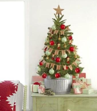 Genius ways to repurpose galvanized buckets this christmas 25