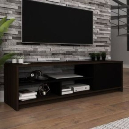 Modern tv stand design ideas for small living room 04