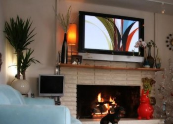 Modern tv stand design ideas for small living room 08