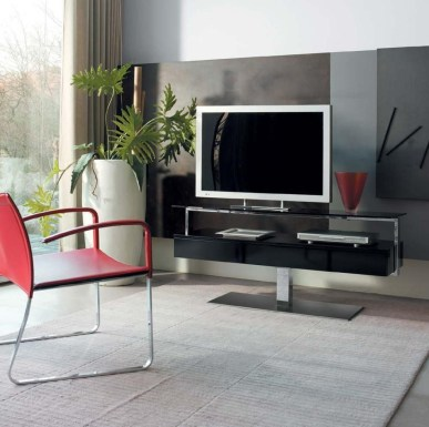 Modern tv stand design ideas for small living room 23
