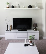 Modern tv stand design ideas for small living room 40