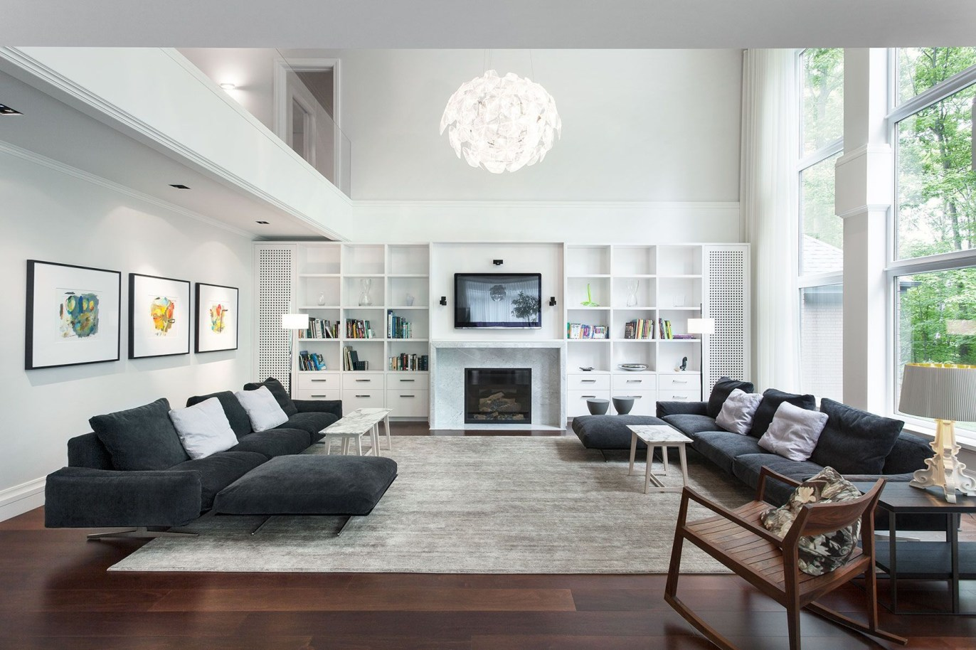 Modern tv stand design ideas for small living room 50