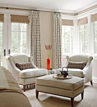 Window treatment and curtain ideas to beautify your window space 25